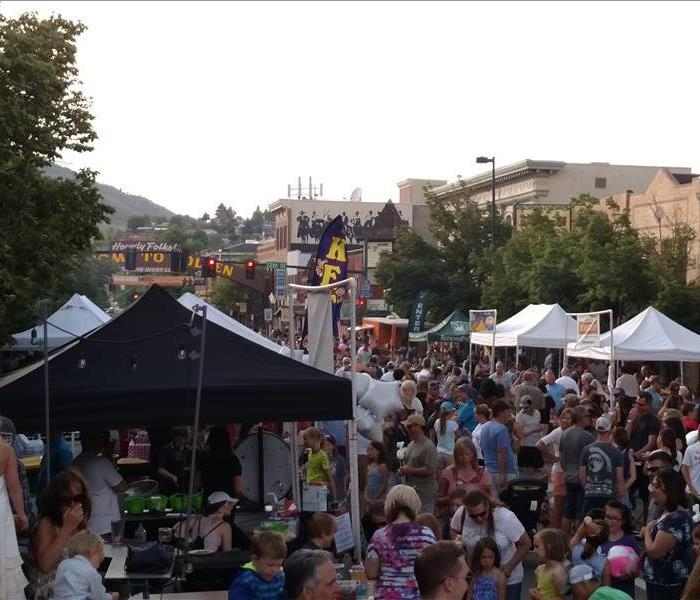 Golden Street Fair June 2016